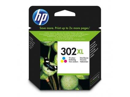 Náplň do tiskárny HP F6U67AE, Barevná (HP 302XL) - originální kazeta