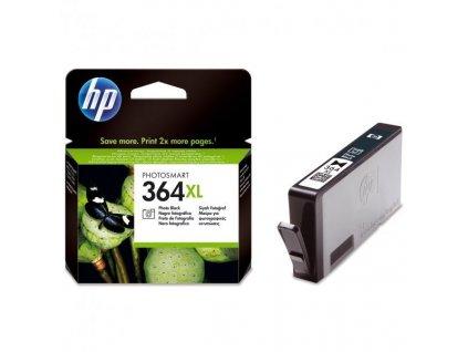 Náplň do tiskárny HP CB322EE, Foto černá (HP 364XL) - originální kazeta