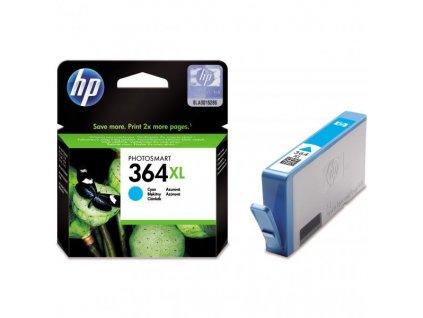 Náplň do tiskárny HP CB323EE, Azurová (HP 364XL) - originální kazeta