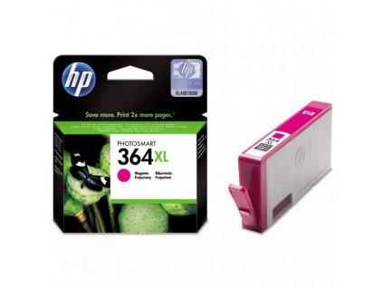 Náplň do tiskárny HP CB324EE, Purpurová (HP 364XL) - originální kazeta