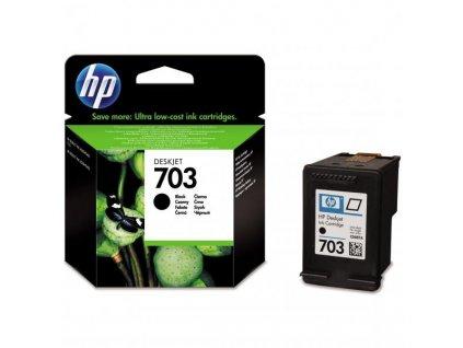 Náplň do tiskárny HP CD887AE, černá (HP 703) - originální kazeta