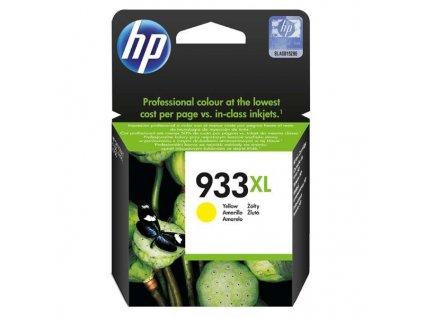 Náplň do tiskárny HP CN056AE, Žlutá (HP 933XL) - originální kazeta