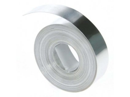 Dymo 31000, S0720160, 12mm, hliníková bez lepidla - originální páska