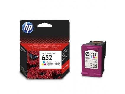 HP F6V24AE, Barevná (HP 652) - originální kazeta