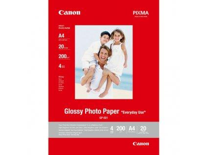6296 canon glossy photo paper foto papir leskly gp 501 bily a4 210 g m2 20 ks 0775b082 inkoustovy