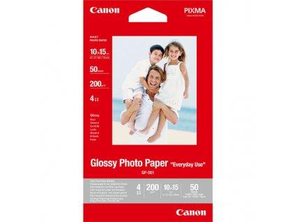6302 canon glossy photo paper foto papir leskly gp 501 bily 10x15cm 210 g m2 50 ks 0775b081 inkoustovy