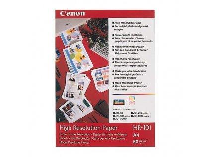 6341 canon high resolution paper foto papir specialne vyhlazeny bily a4 106 g m2 50 ks hr 101 a4 50 inkoustovy