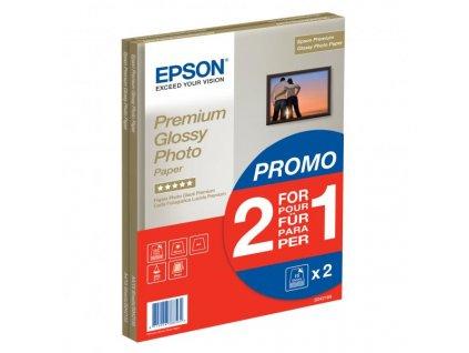 6353 epson premium glossy photo paper foto papir leskly bily a4 255 g m2 30 ks c13s042169