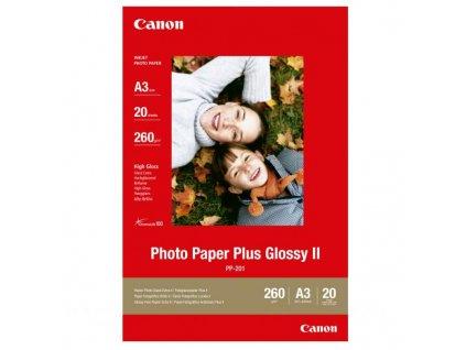 6365 canon photo paper plus glossy foto papir leskly bily a3 275 g m2 20 ks pp 201 a3 inkoustovy