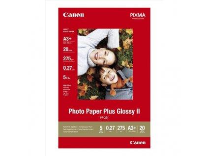 6371 canon photo paper plus glossy foto papir leskly bily 275 g m2 20 ks pp 201 a3 inkoustovy