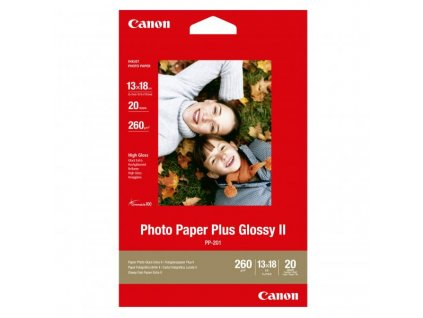 6374 canon photo paper plus glossy foto papir leskly bily 13x18cm 275 g m2 20 ks pp 201 5x7 inkoustovy