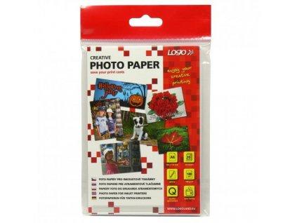 7061 logo foto papir leskly bily 10x15cm 4x6 180 g m2 1440dpi 20 ks 20062 inkoustovy