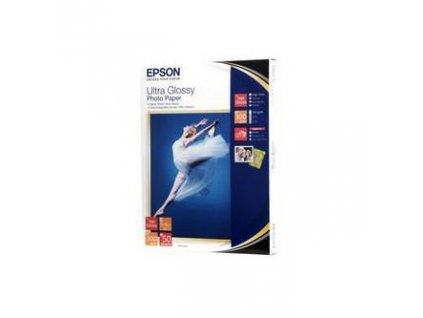 7121 epson ultra glossy photo paper foto papir leskly bily r200 r300 r800 rx425 rx500 13x18cm 300 g m2 50 ks c13s0419