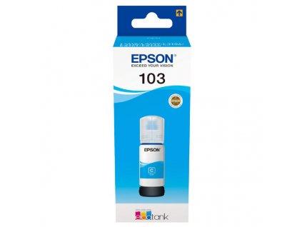 Epson 103, azurový, C13T00S24A, 65ml, Epson EcoTank - originál