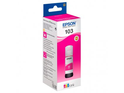 Epson 103, purpurový, C13T00S34A, 65ml, Epson EcoTank - originál
