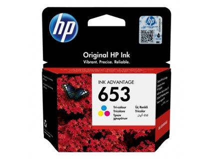 HP 3YM74AE, Tri-colour (HP 653) - originál
