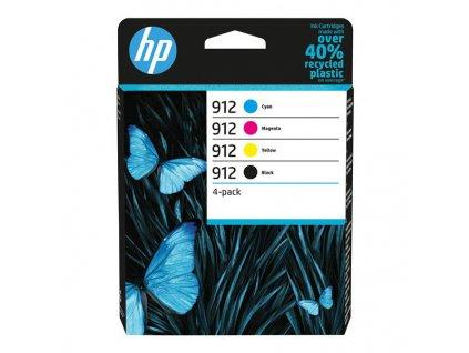 HP 912, CMYK (6ZC74AE) Multipack - originální kazety