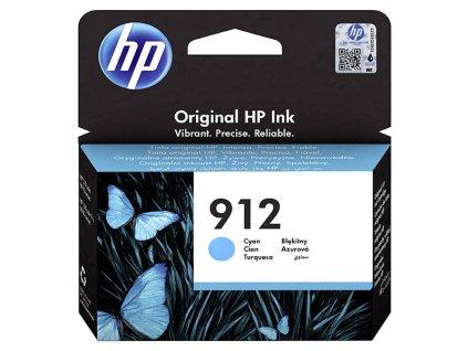 HP 912, azurová, (HP 3YL77AE) - originál