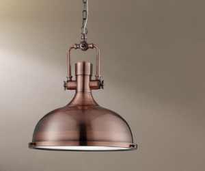 1322CU Industrial závěsné svítidlo Searchlight