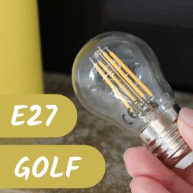 Žárovka E27 golf čirá - zobrazit nabídku