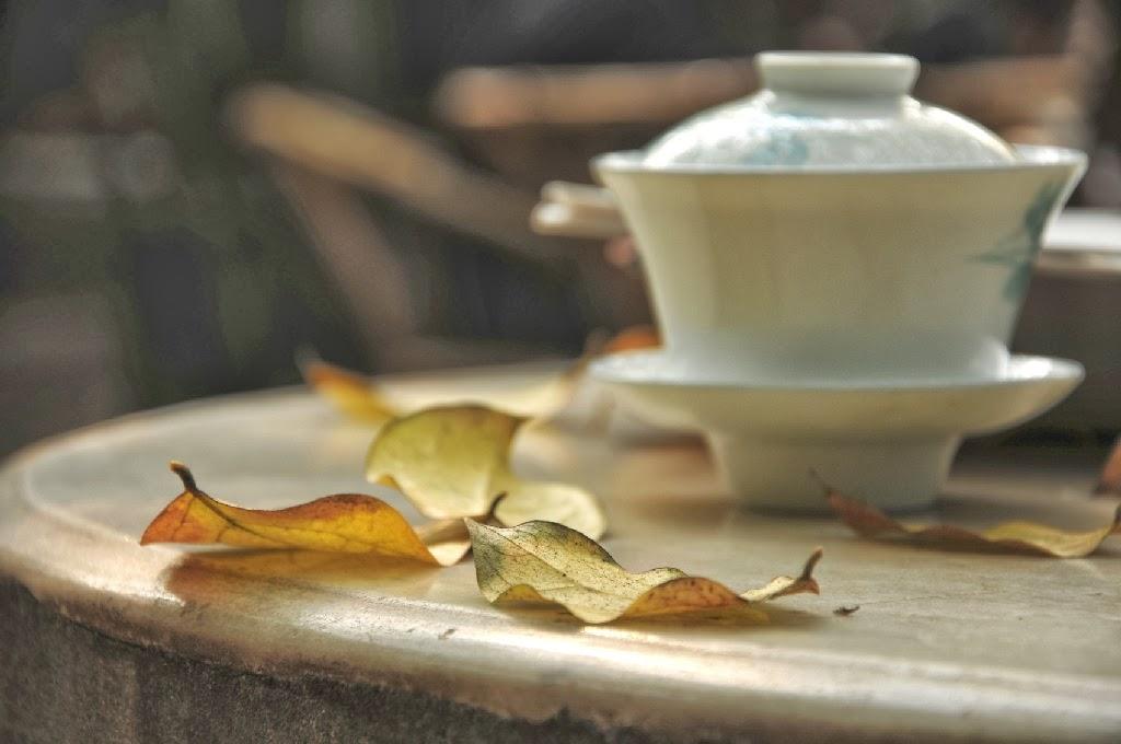 Pití čaje v Číně