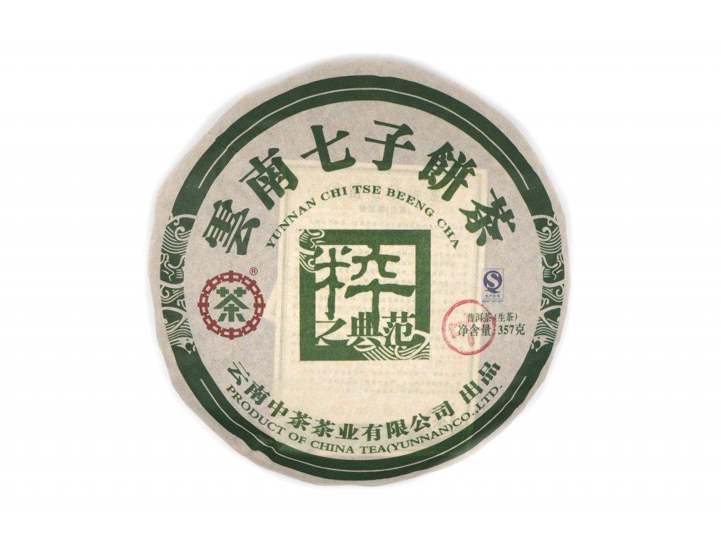 2011 Chinatea Brand 9234 Sheng Puerh Beeng Cha 357g