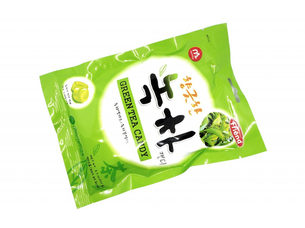 Čajové bonbony se zeleným čajem