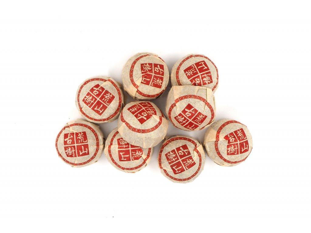 2005 Bulang Huang Shan Gu Shu Xiao Tuo Sheng Puerh
