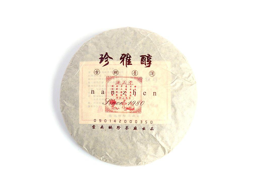 2007 Menghai Nanzhen Shu Puerh Beeng Cha 357g