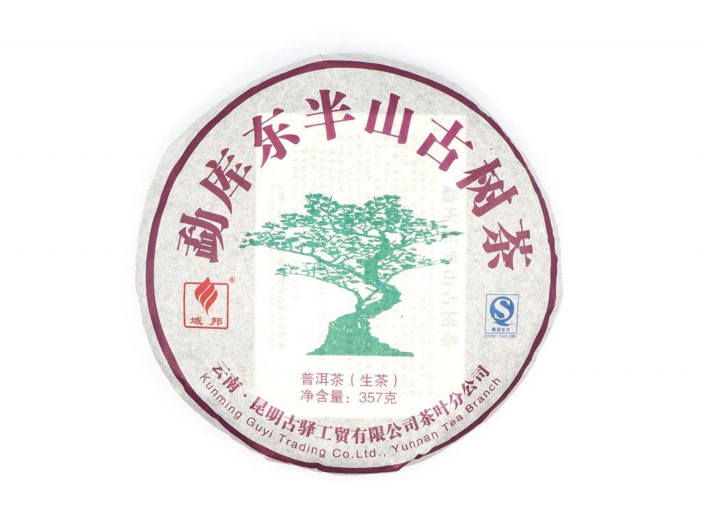 2010 yubang gu shu sheng puerh beeng cha 357g
