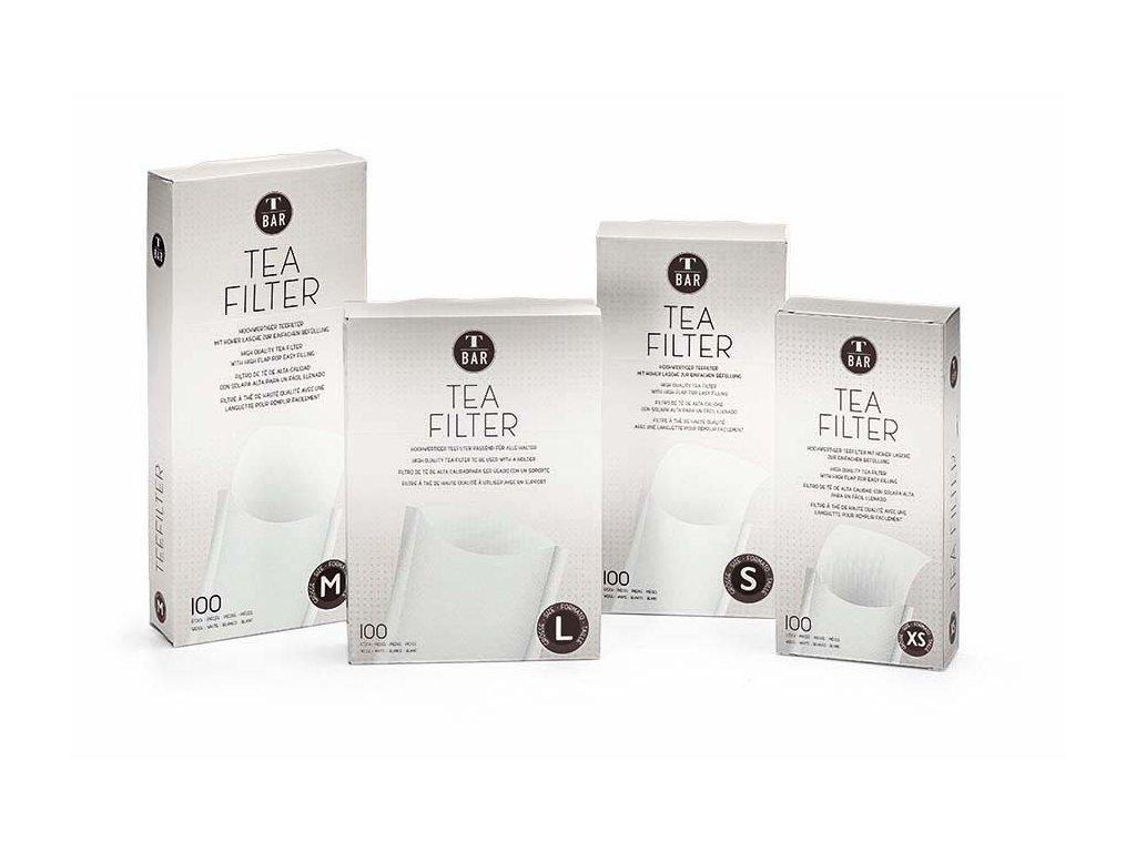 Čajové filtry všech velikostí