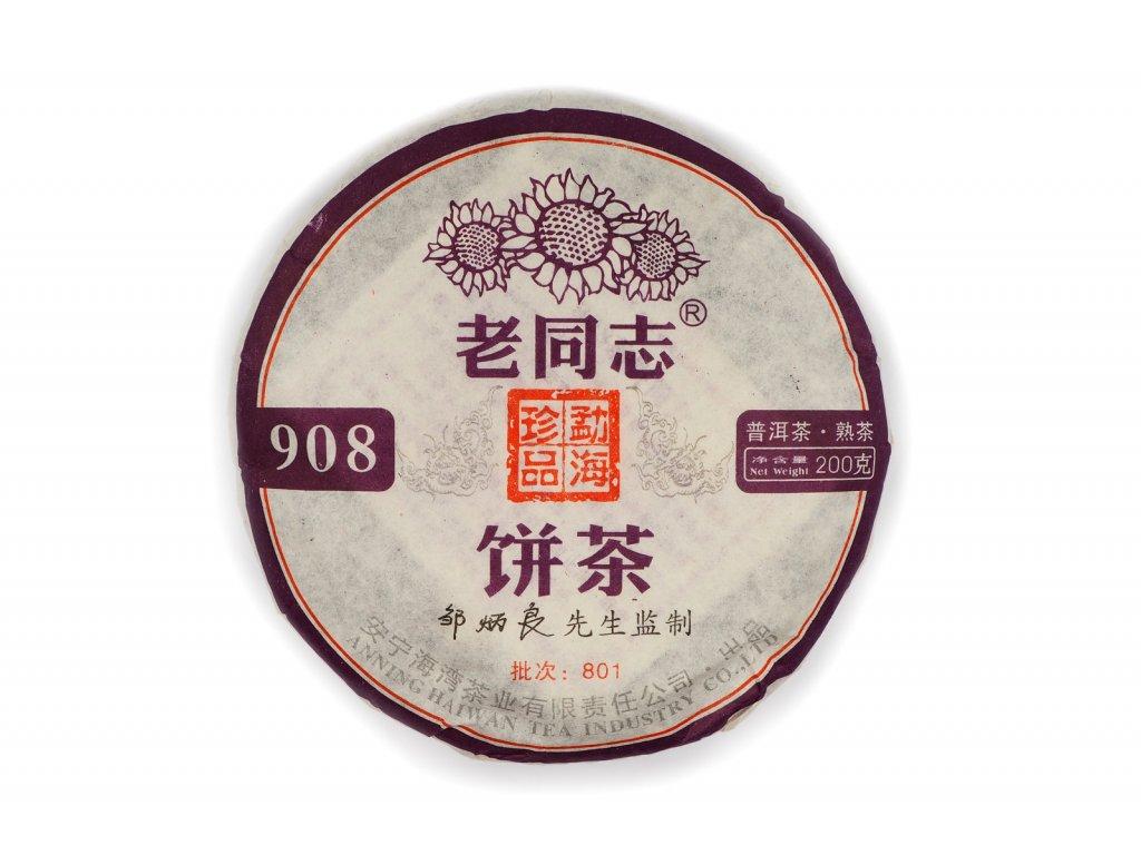 2009 Haiwan *908* Lao Tong Zhi Shu Pu-erh 200g