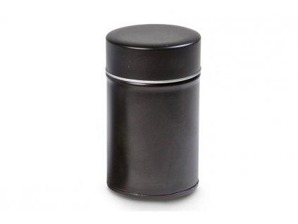 cerna plechovka na caj 150g vnitrni vicko