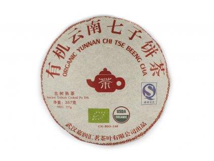 Yunnan Organic Chi Tse Beeng Cha Shu Puerh 357g