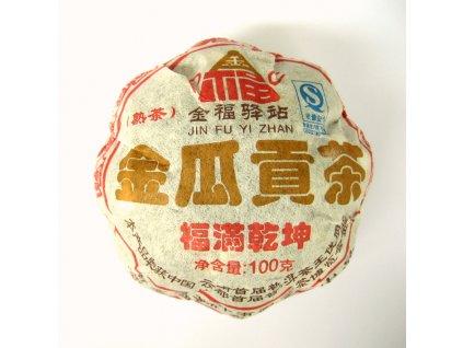 2008 Jin Fu TF Shu Melon Tuo Cha 100g