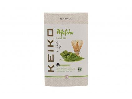 Keiko čokoláda se zeleným čajem GREEN KISS 30g (bio)