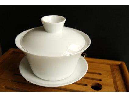 Porcelánový gaiwan bílý