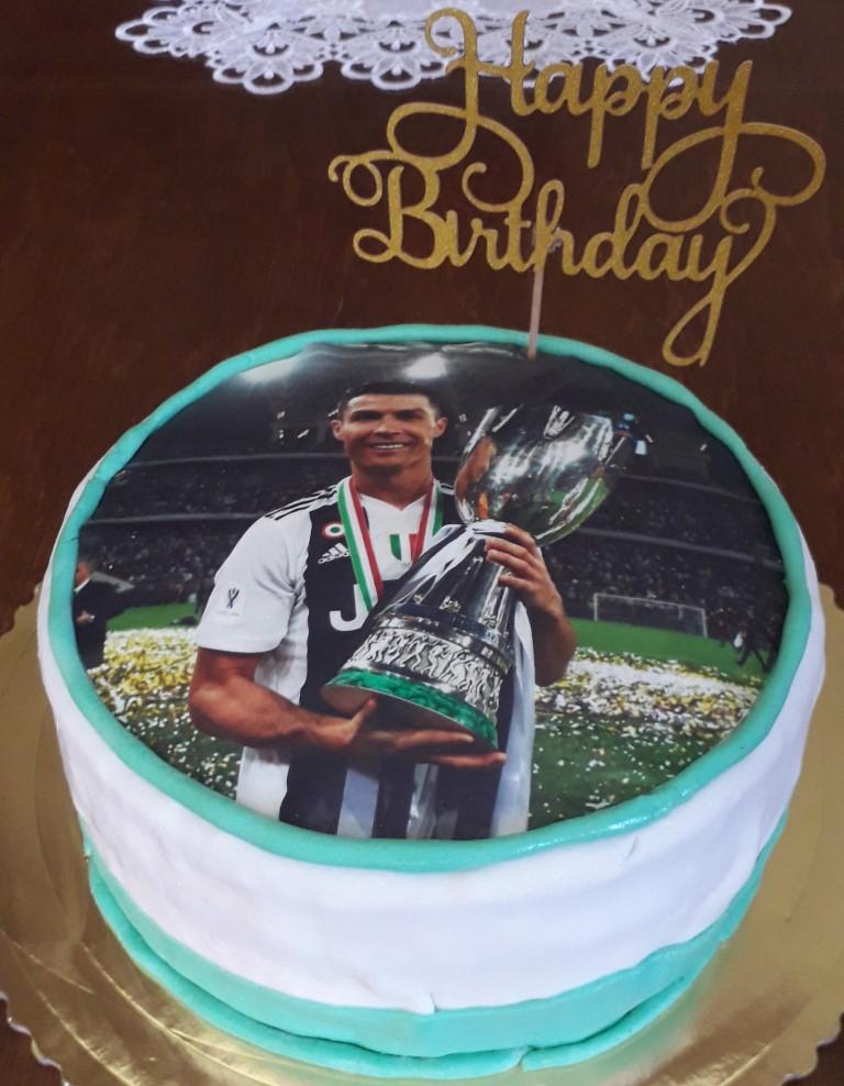 Mirka Farbjakova - jedlý obrázok, zapichovač Happy Birthday