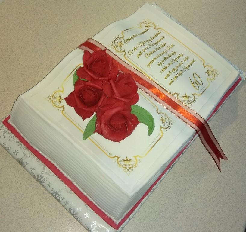 Simona Bencková - jedlý obrázok (DEKOR), K2, ružičky