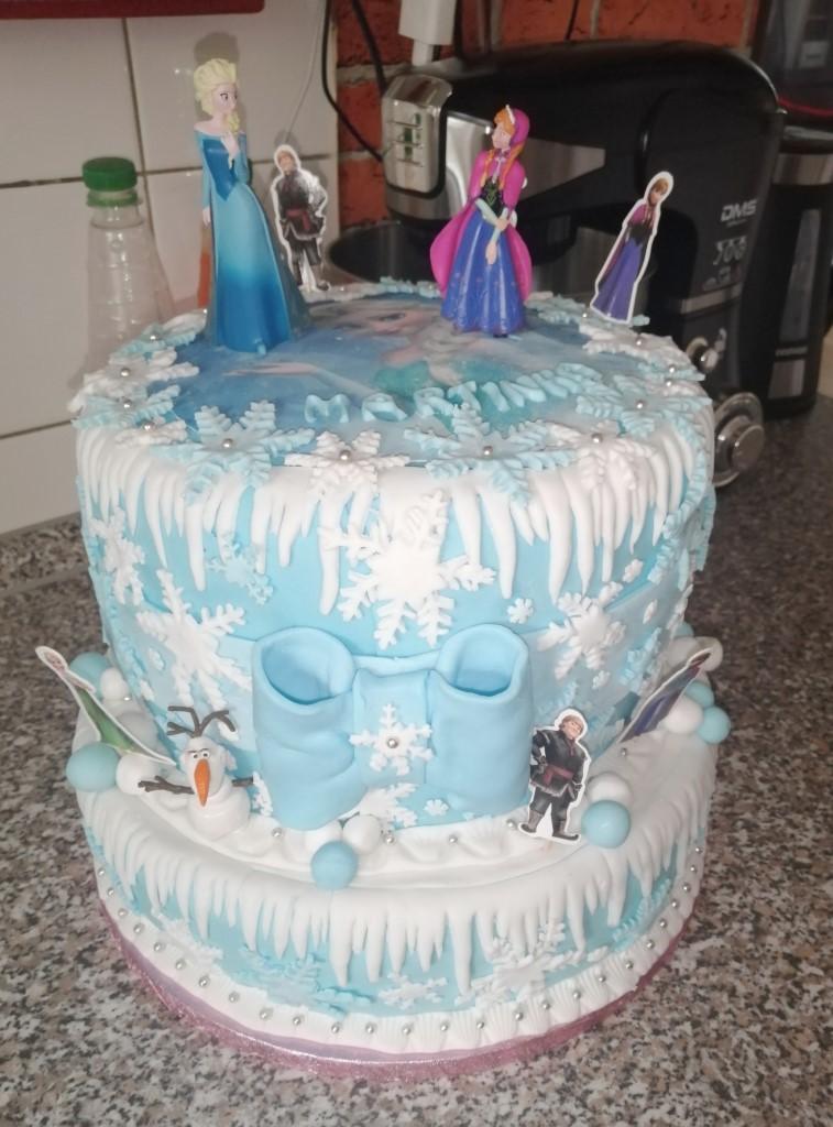 M. Stofilova - zapichovátka Frozen, jedlá hmota Sea Blue