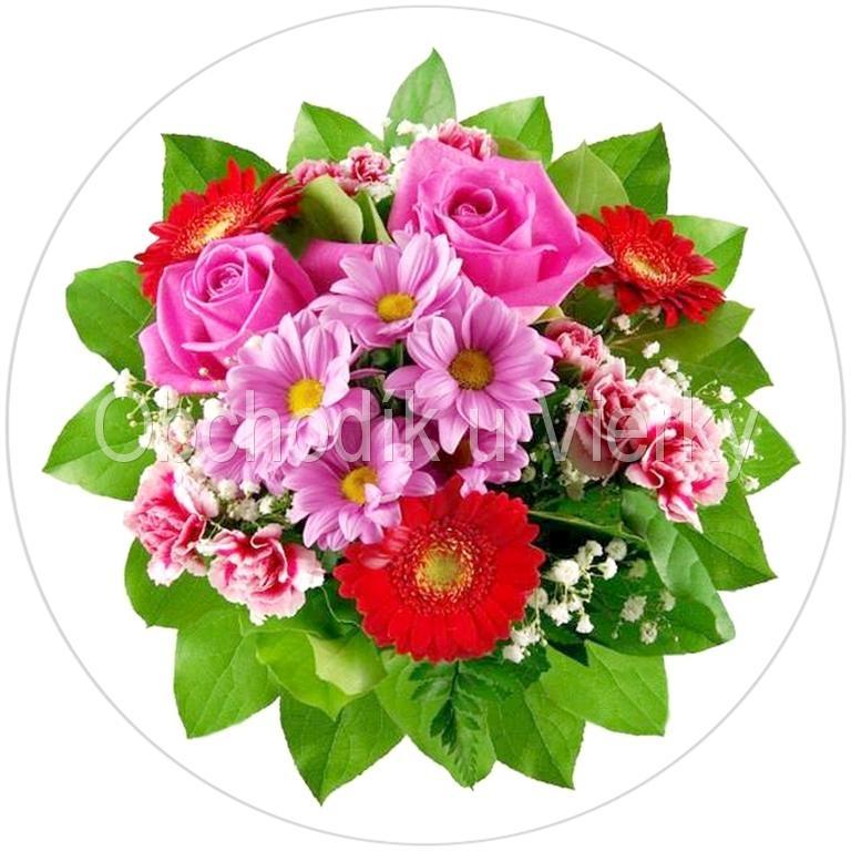 Jedlý obrázok kvety 16 č. 8044,01