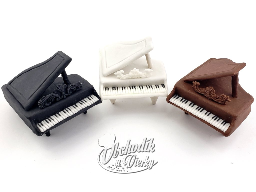 Klavír jedlá ozdoba 3