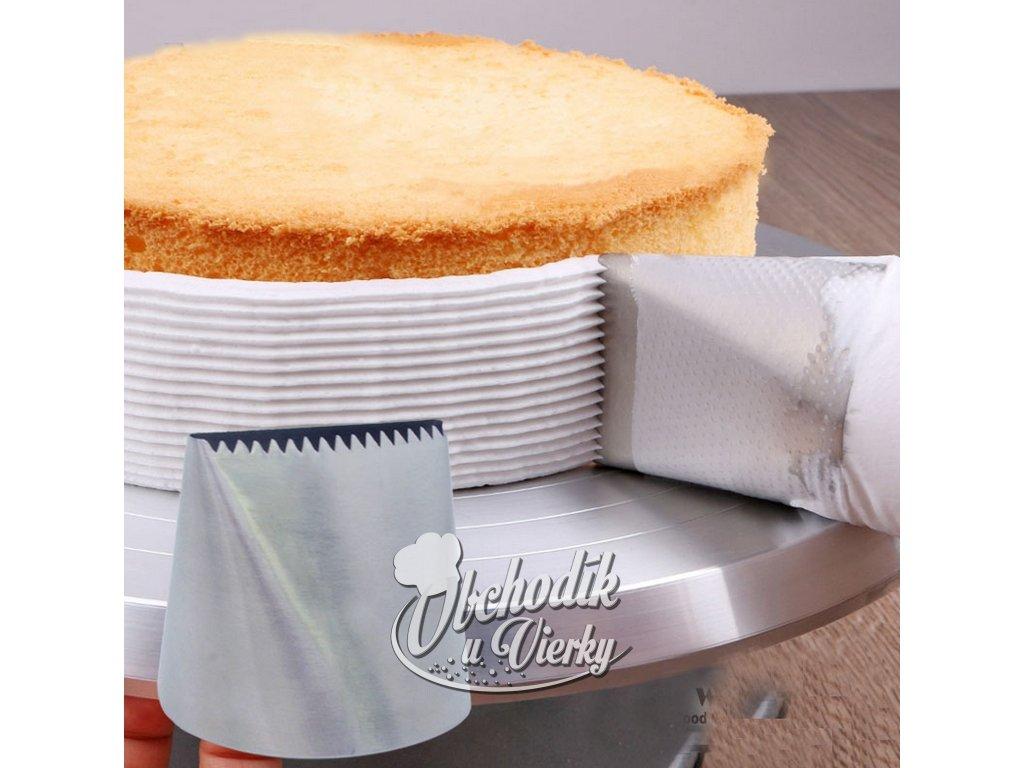 Extra veľká špička na nanášanie krému na torty 1
