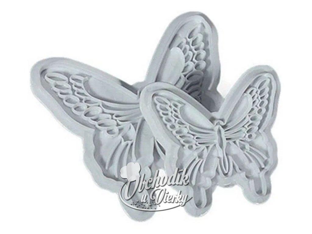 Vykrajovače motýle 2 ks