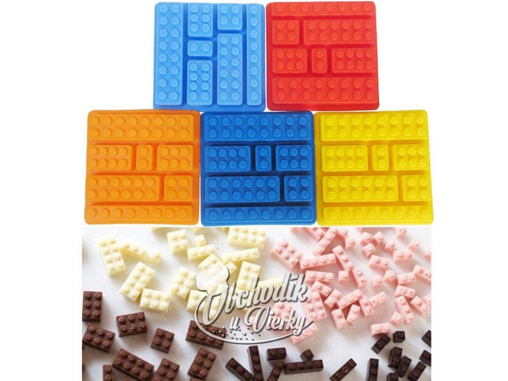 LEGO silikónová forma (štvorec)