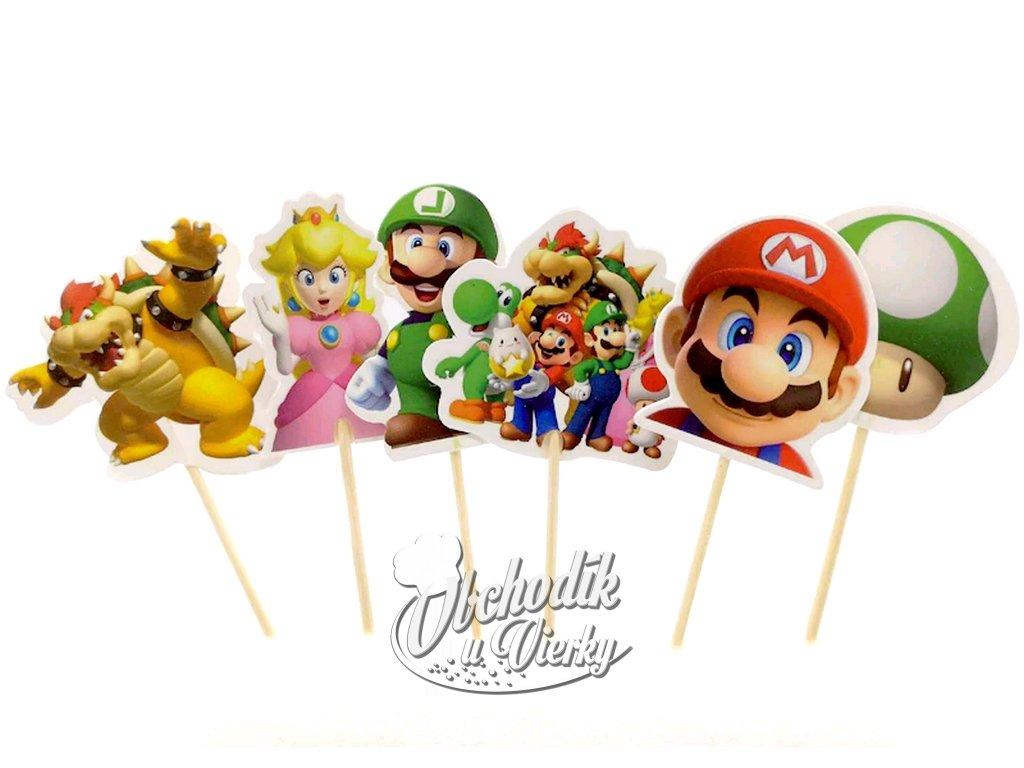 Super Mario zapichovátka 6 ks
