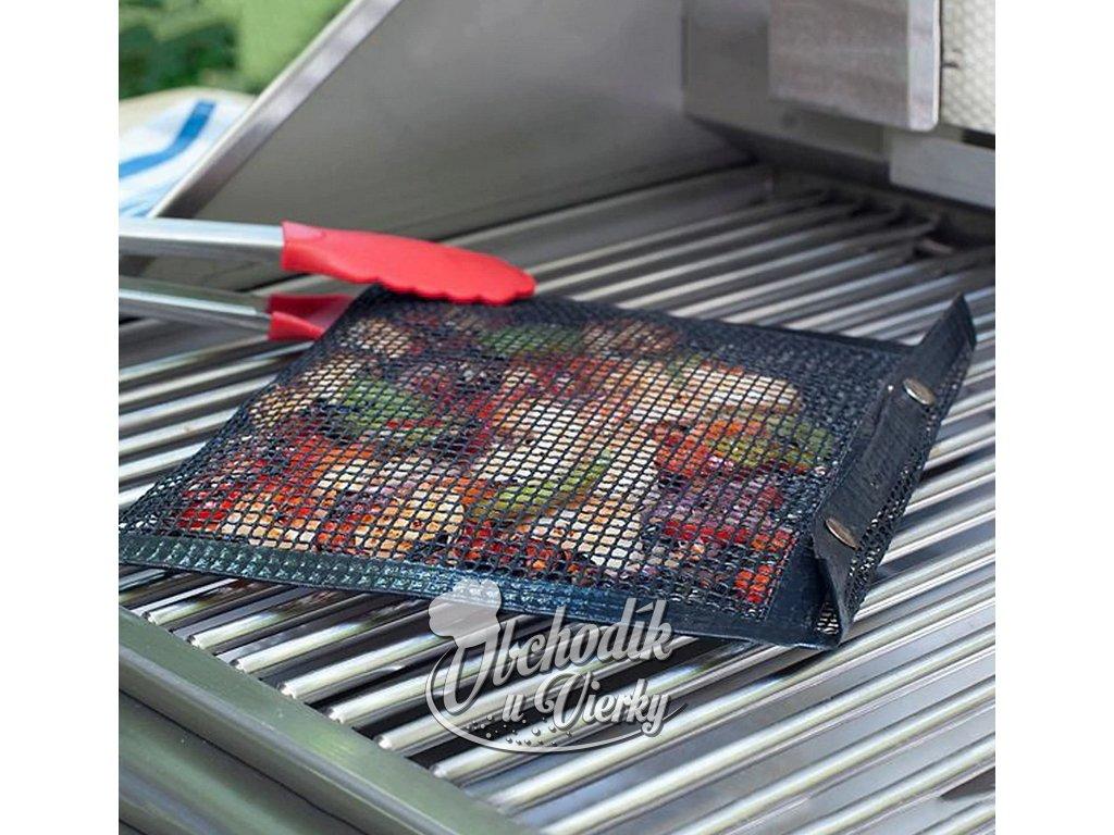 Teflónové vrecko na grilovanie menších kúskov zeleniny mäsa (umývateľné) 1