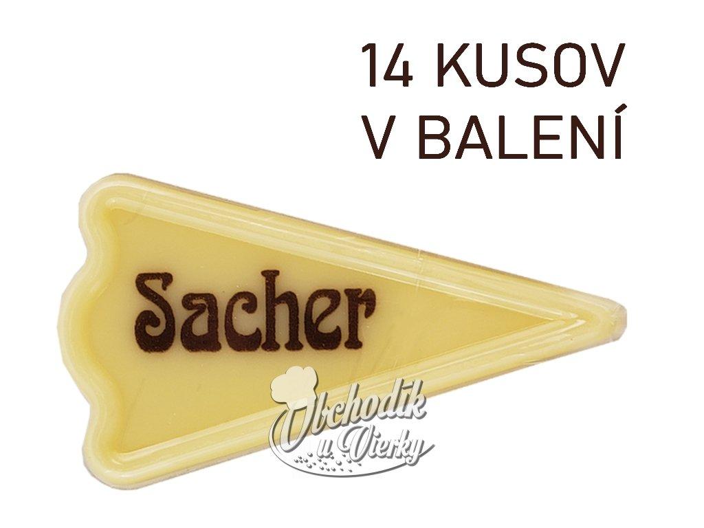 Čokoládky s nápisom SACHER 14 ks 1