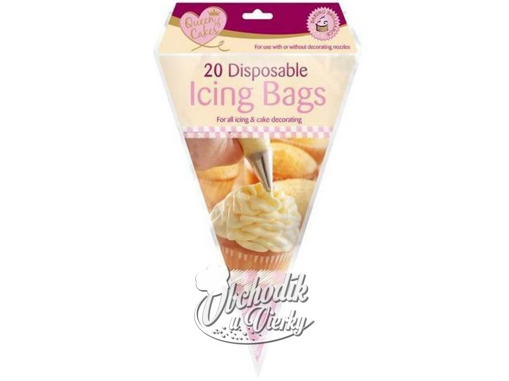 Cukrárske jednorazové vrecúška 30 cm 20 ks 1