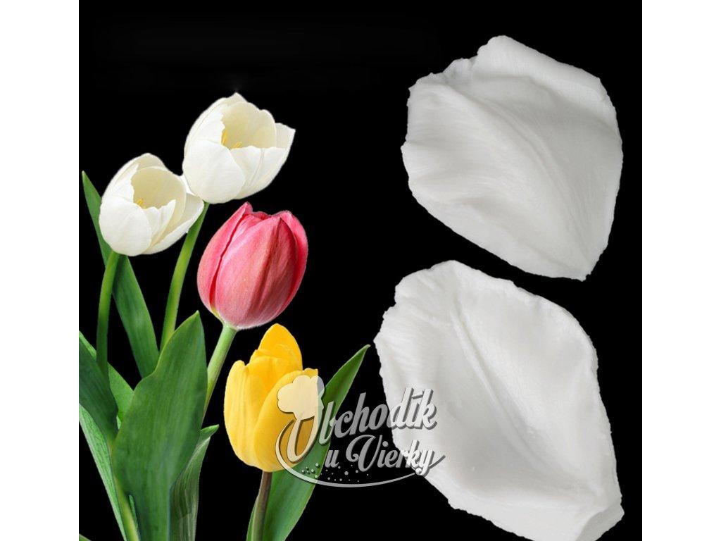 Silikónové formy 2 ks na lupene kvetov (žilkovač) 1
